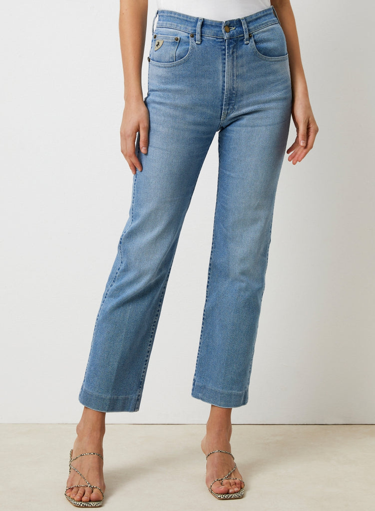 Lois River straight leg jeans - high waist Heritage Harry @ modin
