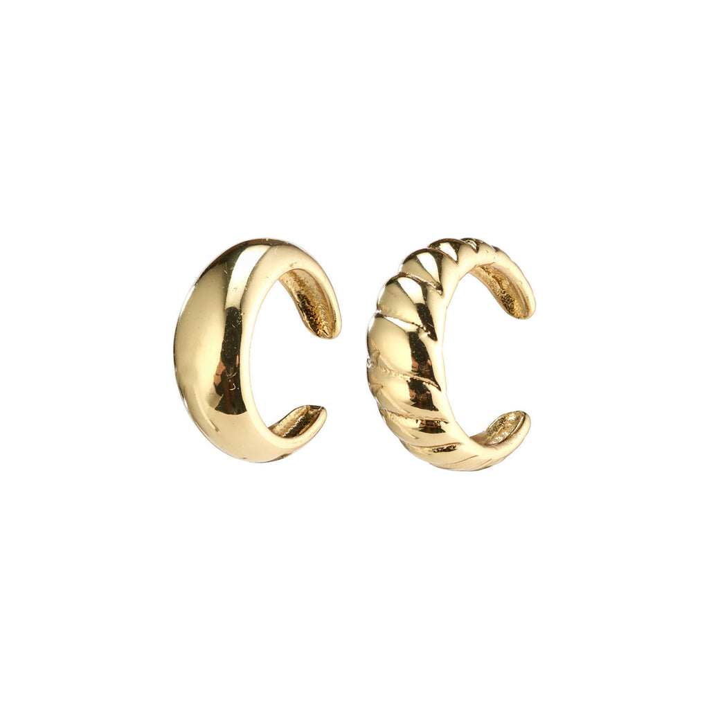 Pilgrim Helga ear cuffs 2-in-1 goud @ modin