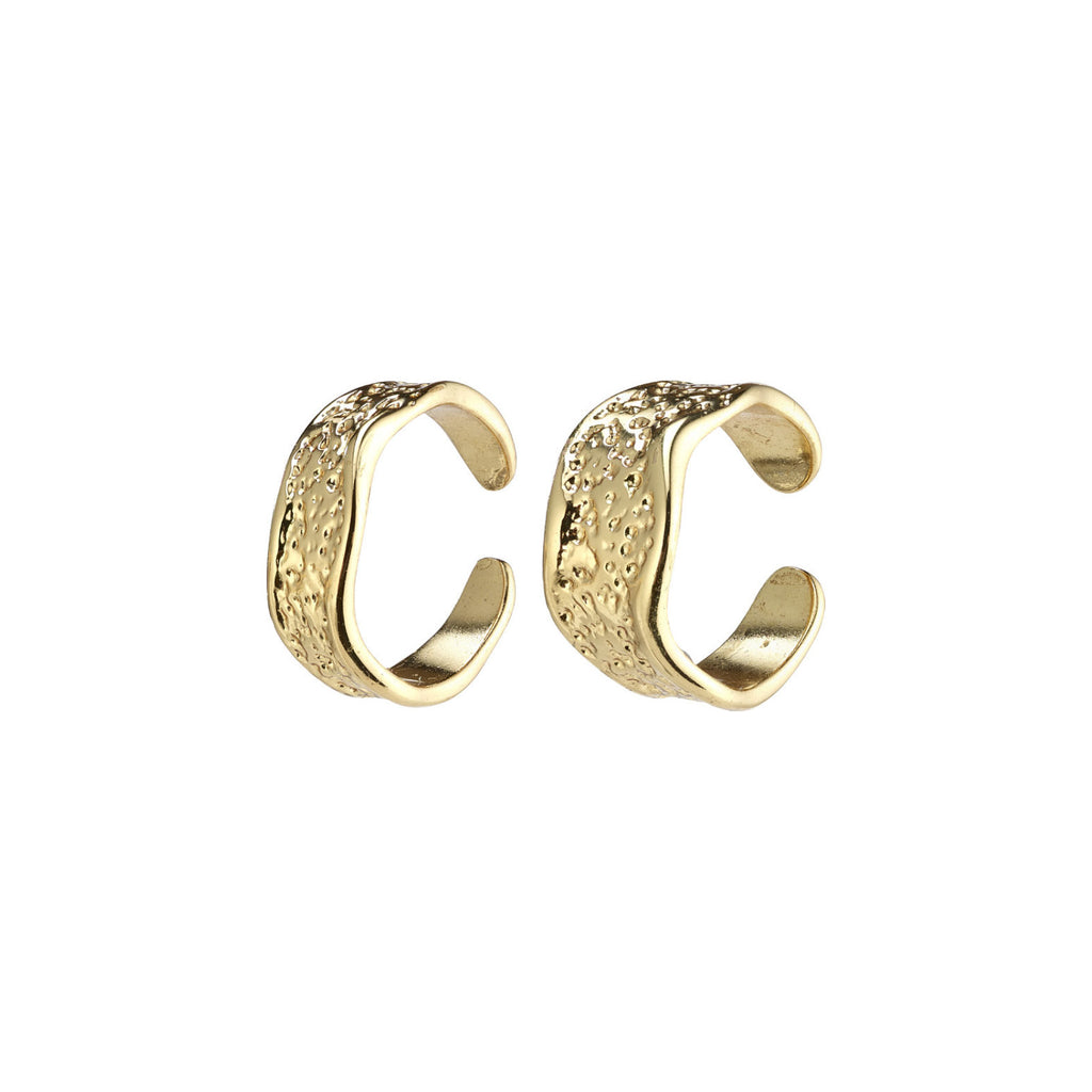 Pilgrim Daniela ear cuffs 2-in-1 goud @ modin