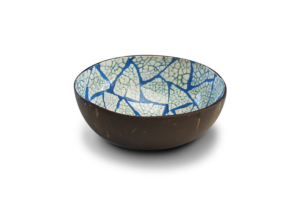 NOYA Coconut bowl Blue eggshell @ modin
