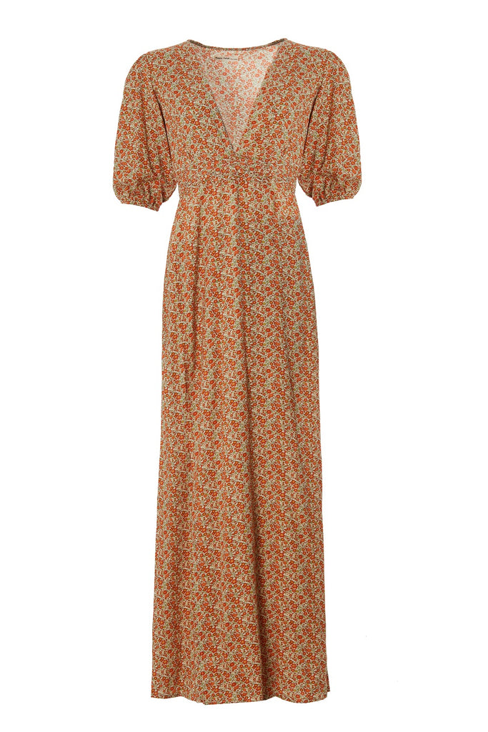 Poppyfield the label Adella dress orange @ modin