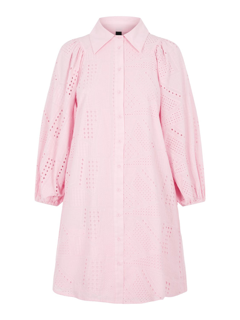 Y.A.S. Sado dress roseate spoonbill pink @ modin