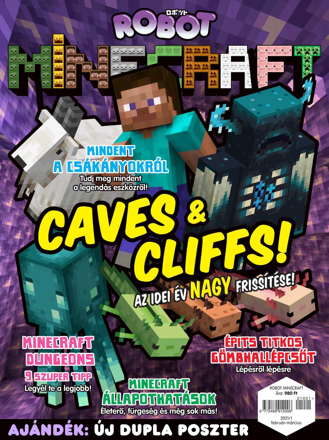 Minecraft magazin 2021/1