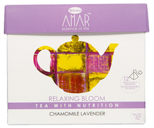 Load image into Gallery viewer, Organic Chamomile & Lavender 12 tea bags, AMAR - Essence of Life Teas with Nutrition
