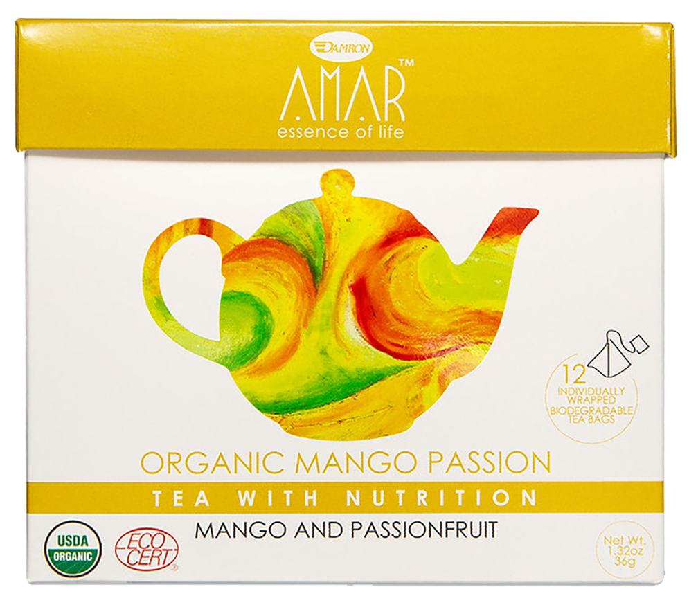 Organic Mango Passion - Green Tea Mango