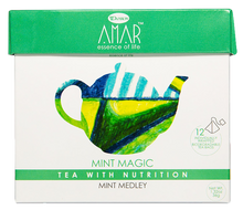 Load image into Gallery viewer, Mint Magic - Mint Medley 12 tea bags, AMAR - Essence of Life Teas with Nutrition