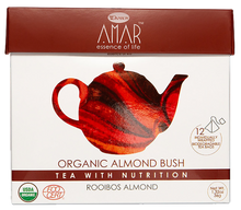 Load image into Gallery viewer, Organic Rooibos & Almond 12 tea bags, AMAR - Essence of Life Teas with Nutrition