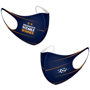 TS Mask Set of 2,  INDY 500 WINNER 2020 Edition