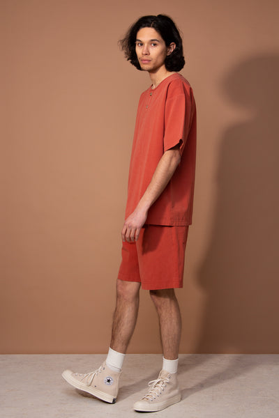 Coen Shorts Terracotta