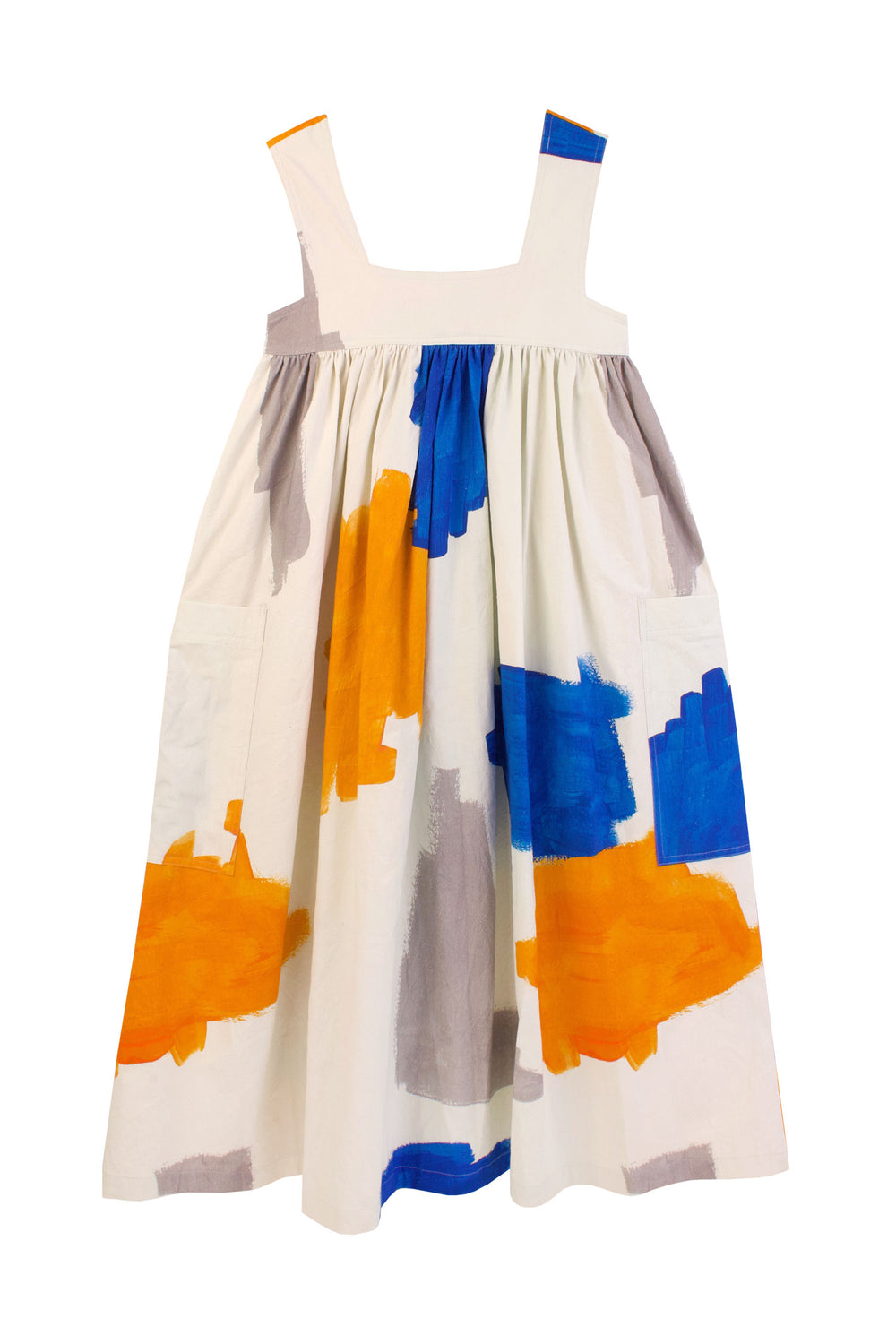 Cameron Dress Brushstrokes