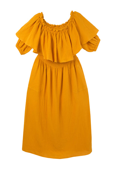 Otto Dress Saffron