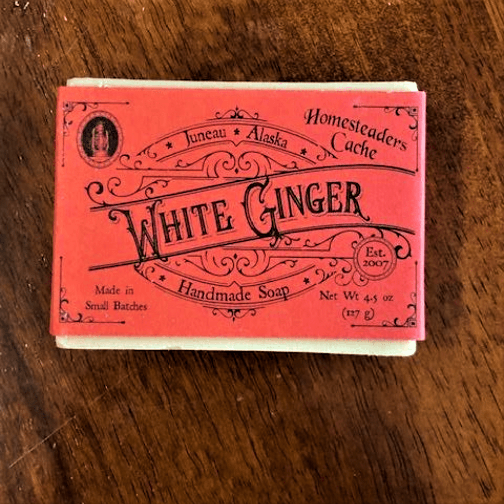 WHITE GINGER SOAP BAR