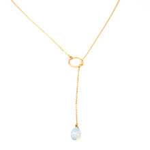 Load image into Gallery viewer, Pull Through Necklace Opalite