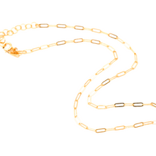 Load image into Gallery viewer, Lily Dainty Link Chain Choker Necklace 14K Gold Fill