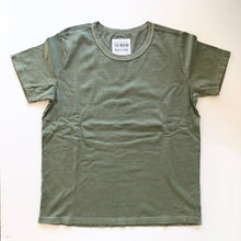 Load image into Gallery viewer, Le Bon Shoppe • Vintage Boy Tee Avocado Green • 100% Organic Cotton • Made in USA