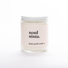 Load image into Gallery viewer, Soul Sista • Soy Candle • Blackberry Amber Scent