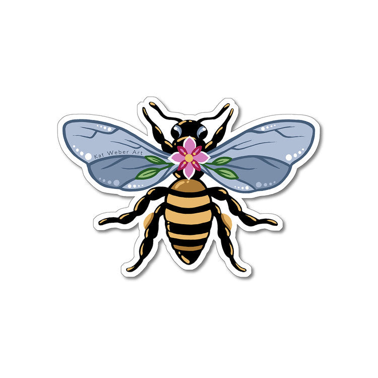 Kat Weber Queen Bee Sticker