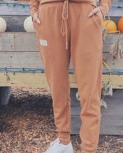 Load image into Gallery viewer, People of Leisure Cotton Fleece Daybreak Joggers Terra-cotta