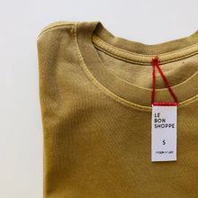 Load image into Gallery viewer, Le Bon Shoppe • Ease Tee Butterscotch • 100% Cotton • Made in USA
