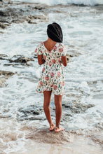 Load image into Gallery viewer, Vermilli Hawaii • Elodie Floral Stretch Dress • Protea Queen