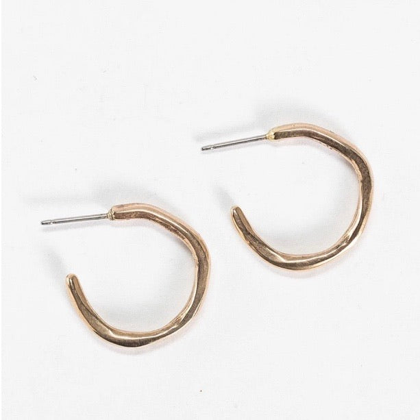 Catori Life Lola Hoop Earrings Bronze
