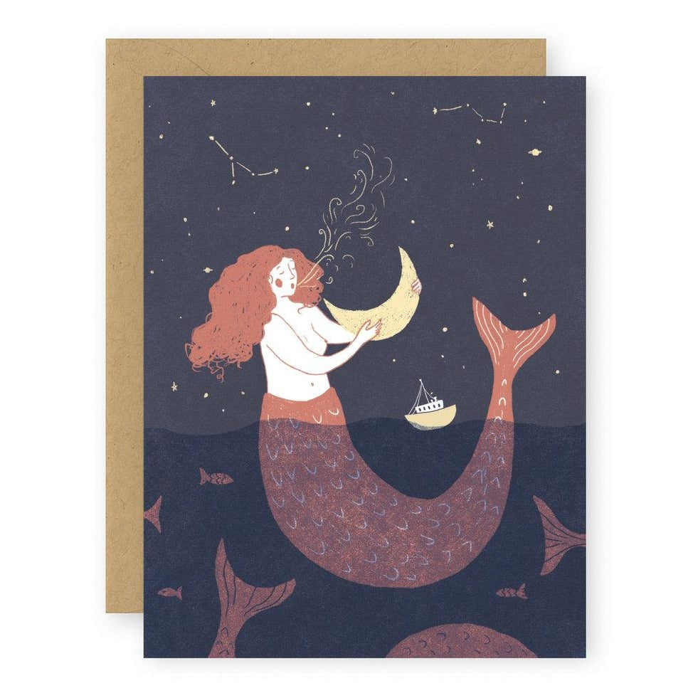 Mermaid Notecard