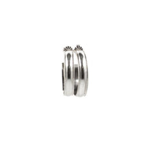 Load image into Gallery viewer, Millie Hoop Earrings SILVER - Small, Medium or Large
