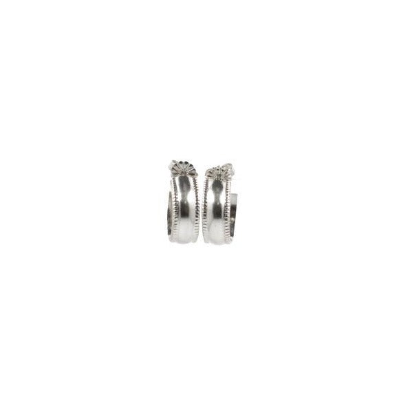 Millie Hoop Earrings SILVER - Small, Medium or Large