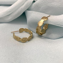 Load image into Gallery viewer, Goldelux • Reverie Hoop Earrings • Brass