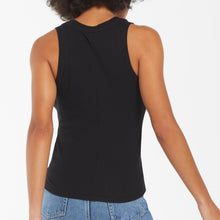 Load image into Gallery viewer, Z Supply • Sirena Rib Tank • Black or Heather Grey