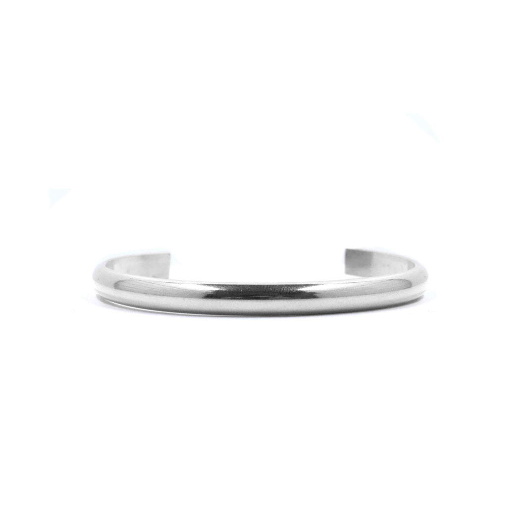 Bent by Courtney • Smooth Stacking Cuff • Thick • Sterling Silver