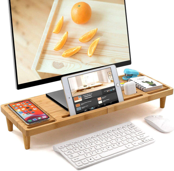 BAMBOO MONITOR STAND