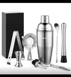 Cocktail set silver