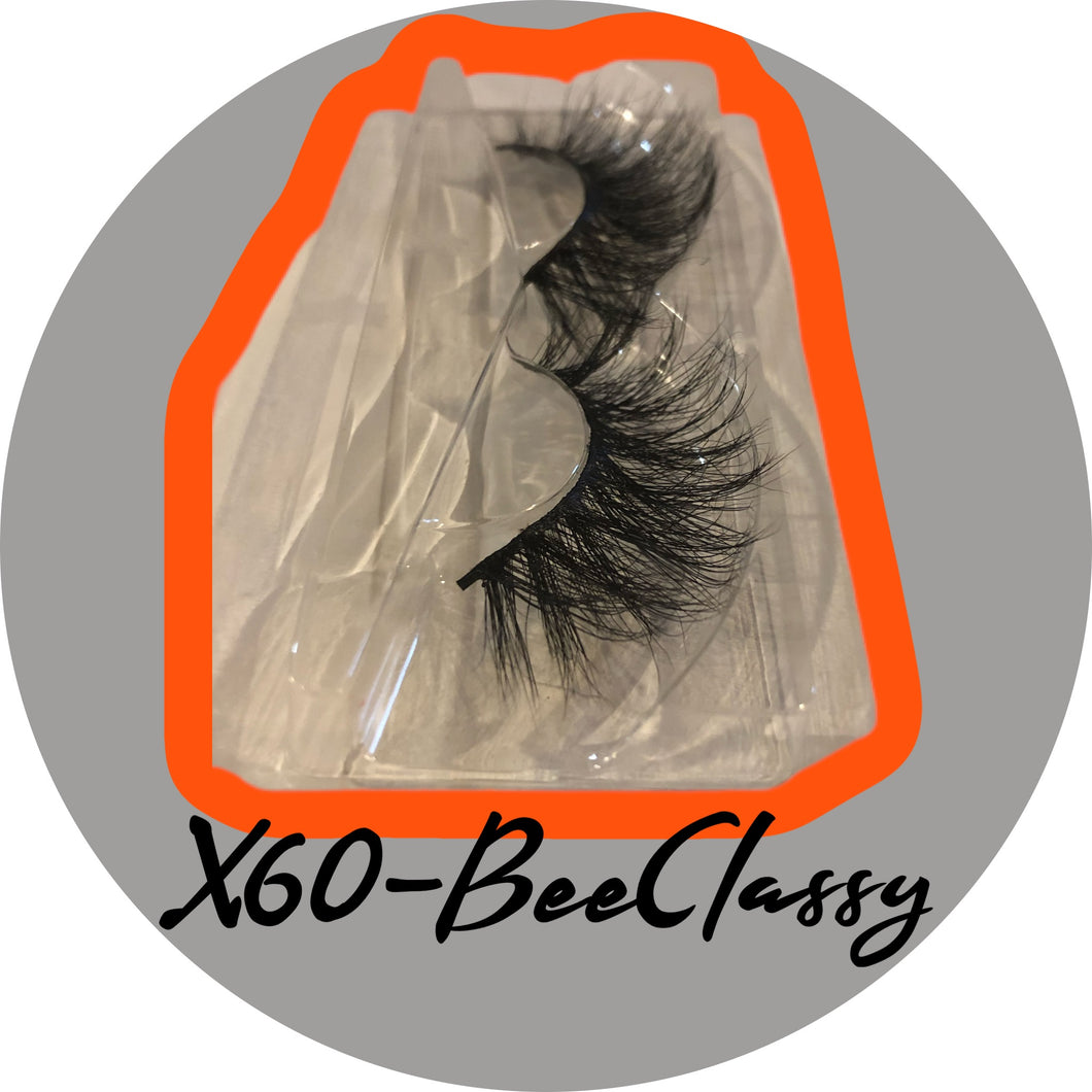 BeeClassy Mink Lashes-X60