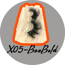 Load image into Gallery viewer, BeeBold Mink EyeLashes-X05