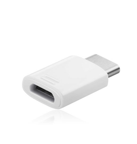 Samsung USB Typ-C auf micro USB Adapter White, EE-GN930BW, Blister
