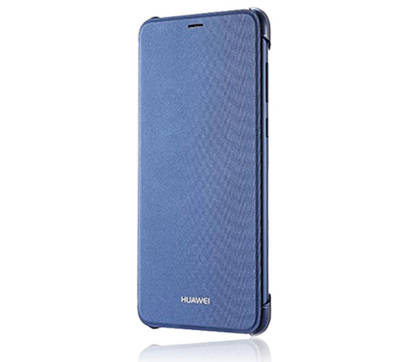 Huawei Smart View Flip Cover Book Style Blue, für Huawei P Smart, Blister