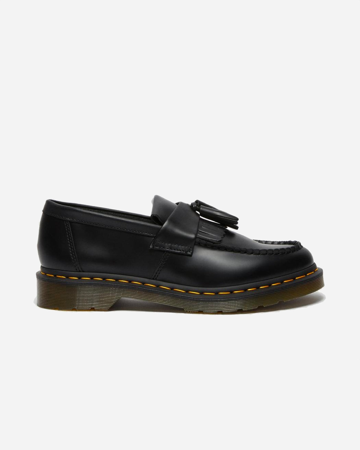 Adrian Smooth Leather Loafers - Black
