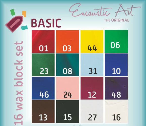 Encaustic Art Paint Set Changes