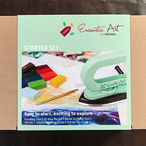 Encaustic Art - The Original Unboxing Video