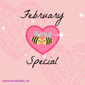 February Special from Exploring Encaustic