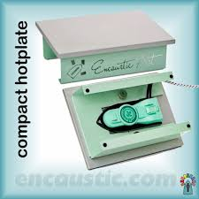 Encaustic Art Hotplate Compact now available
