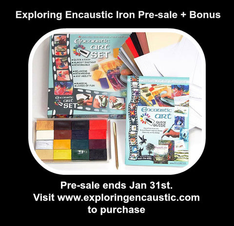 Exploring Encaustic Iron Pre-sale + Bonus