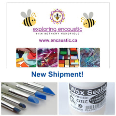 Exploring Encaustic Art Supplies