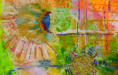 Exploring Encaustic: Collage with the Iron