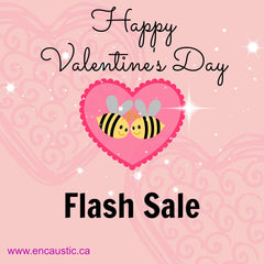 Exploring Encaustic Valentine's Day Flash Sale