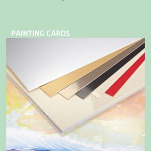 Encaustic Art Painting Cards: A5 Assorted Colours
