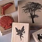 Encaustic Art: Stamps - Final Sale