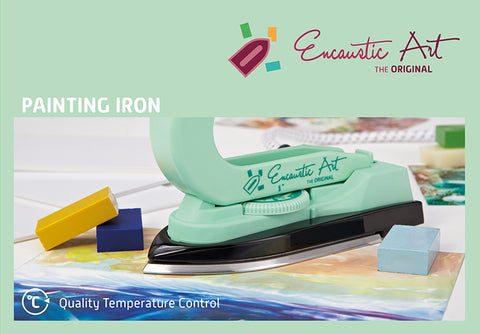 Encaustic Art: Encaustic Painting Iron