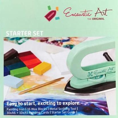 Encaustic Art: Encaustic Starter Painting Set